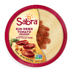 Sun Dried Tomato with Italian Herbs Hummus