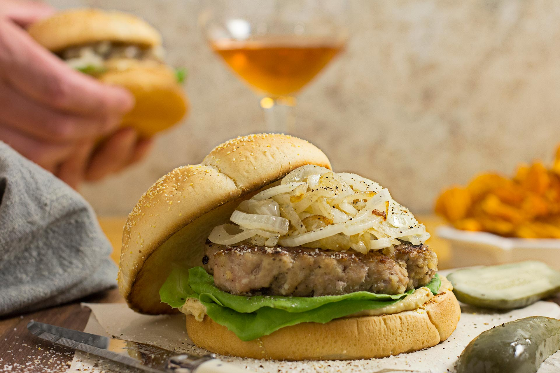 Easiest Ever Turkey Burger