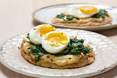 Sabra® Egg & Spinach Toasted Flatbread